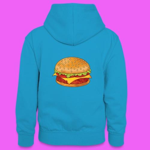 hamburguesa - Sudadera con capucha para adolescentes