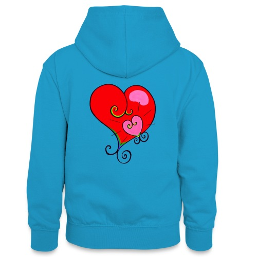 Magic Mother & Magic Child - Teenager Contrast Hoodie