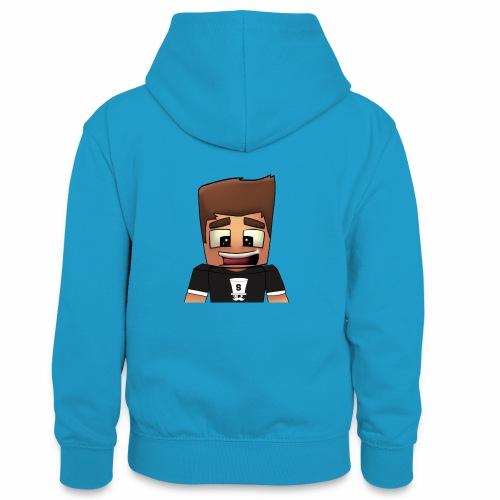 DayzzPlayzz Shop - Teenager contrast-hoodie