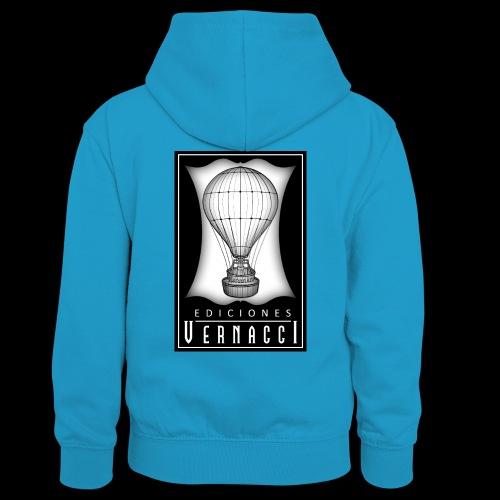 logotipo de ediciones Vernacci - Sudadera con capucha para adolescentes