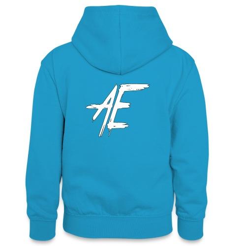AsenovEren - Teenager contrast-hoodie
