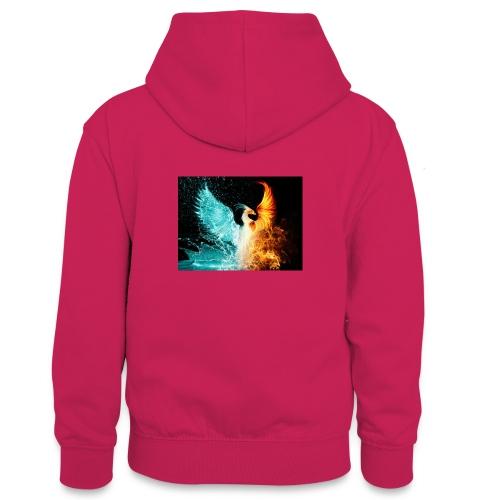 Elemental phoenix - Teenager Contrast Hoodie