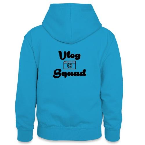 Vlog Squad - Teenager Contrast Hoodie