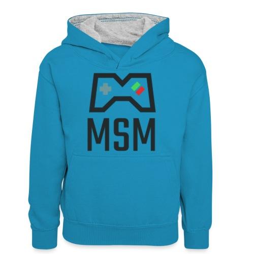 MSM GAMING CONTROLLER - Kontrasthoodie teenager