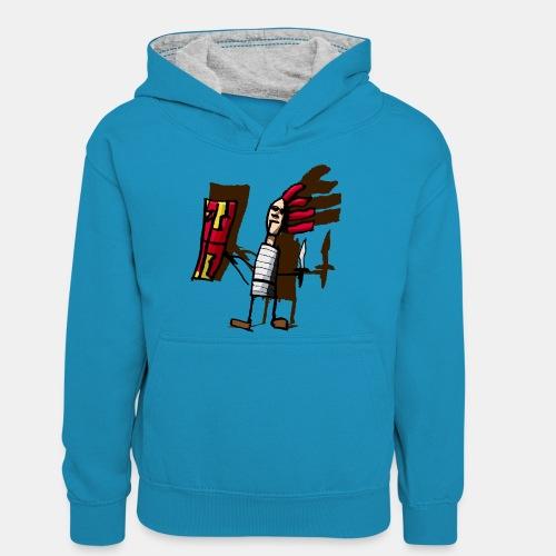 Romano color pantone - Sudadera con capucha para adolescentes