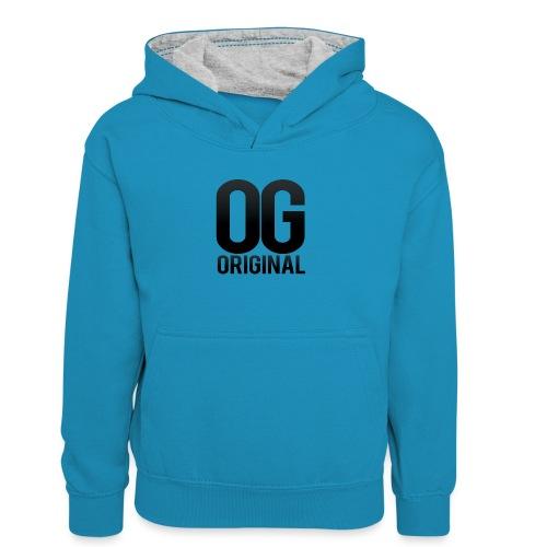 OG as original - Teenager Contrast Hoodie