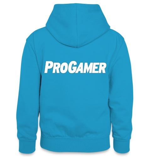 progamers merchandise - Kontrasthoodie teenager