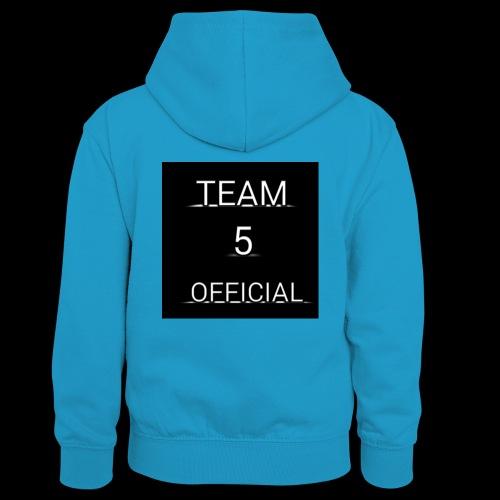 Team5 official 1st merchendise - Teenager Contrast Hoodie