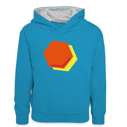 detail2 - Teenager contrast-hoodie