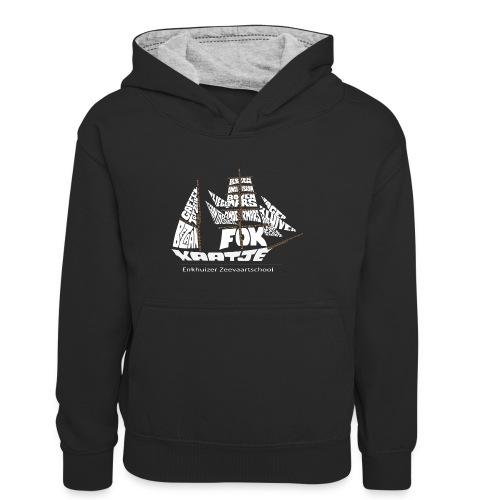 EZS T shirt 2013 Back - Teenager contrast-hoodie