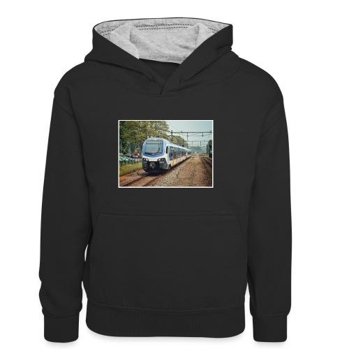 Sprinter in Velp - Teenager contrast-hoodie