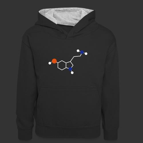 Serotonin - Sweat à capuche contrasté Ado