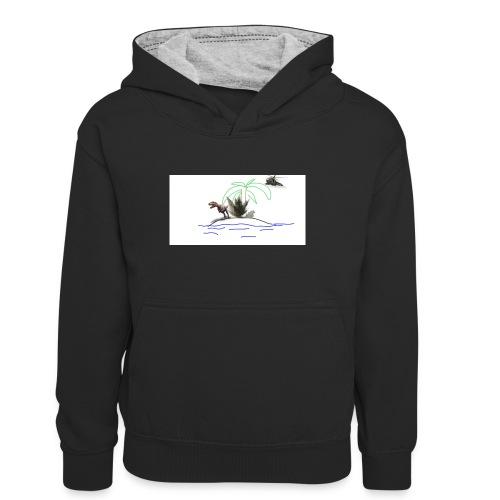 dino - Sudadera con capucha para adolescentes