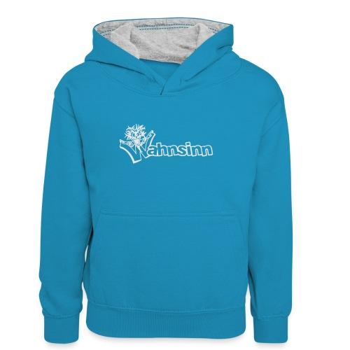 Wahnsinn Logo - Teenager contrast-hoodie