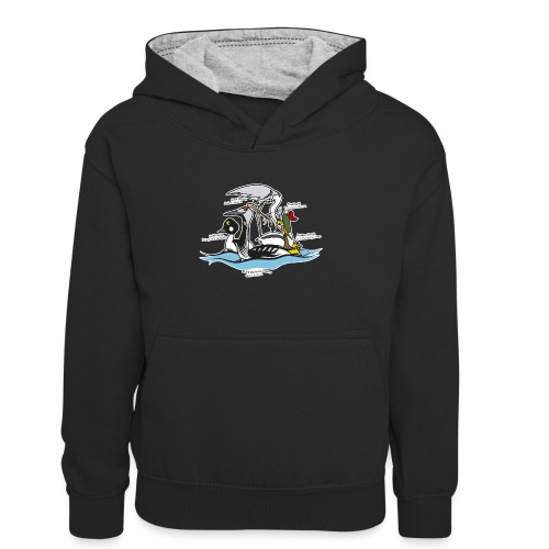 Birds of a Feather - Teenager Contrast Hoodie