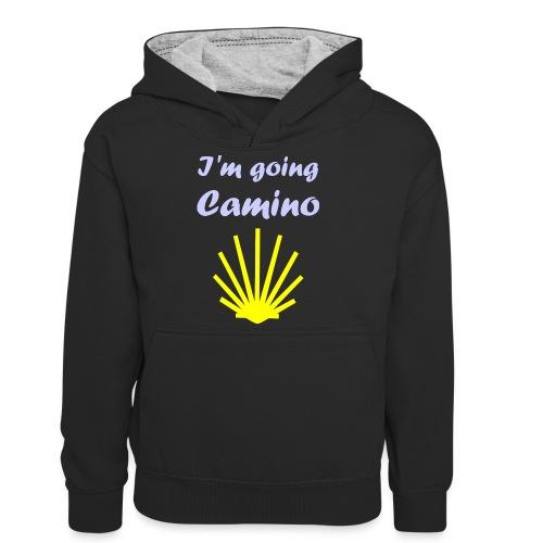 Going Camino - Kontrasthoodie teenager