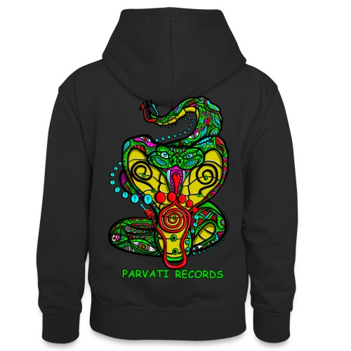 Parvati Records Cobra by Juxtaposed HAMster - Teenager Contrast Hoodie