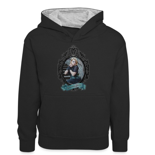 Genoveva Bizzar MOTY 2019 Two Sided Graphics - Teenager Contrast Hoodie