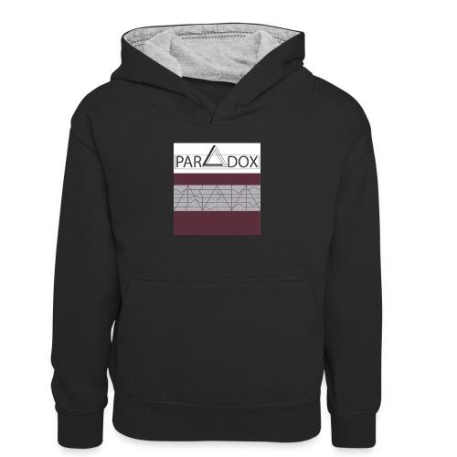 Iphone case jpg - Teenager contrast-hoodie