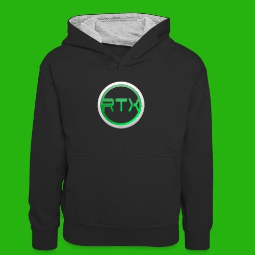 Logo Shirt - Teenager Contrast Hoodie