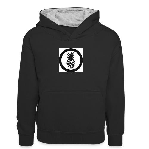 Hike Clothing - Teenager Contrast Hoodie