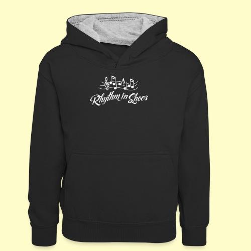 Tanz Rhythmus T-Shirt Geschenk für Tänzer - Teenager Kontrast-Hoodie