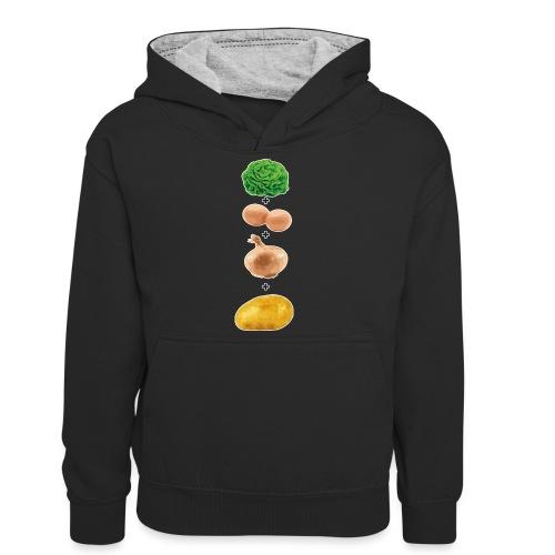 Slaoi Meej Aai Meej Juin Meej Èèrrepel - Teenager contrast-hoodie