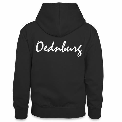 Oednburg Wit - Teenager contrast-hoodie