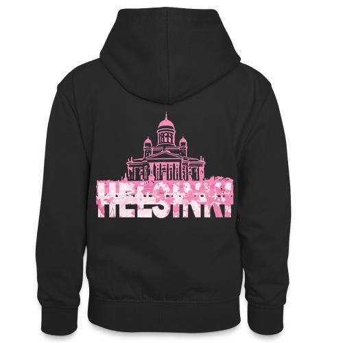 Helsinki Cathedral - Teenager Contrast Hoodie