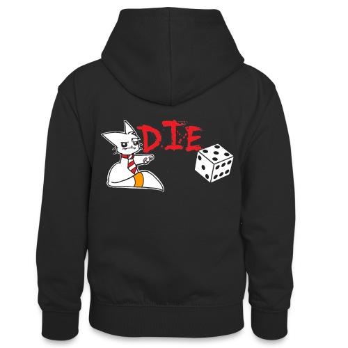 DIE - Teenager Contrast Hoodie