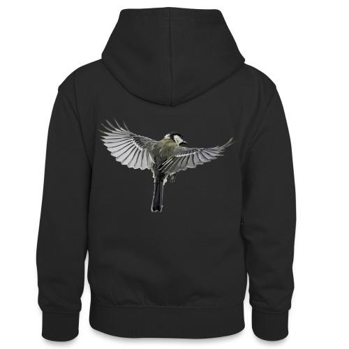 Vogel - Teenager Kontrast-Hoodie