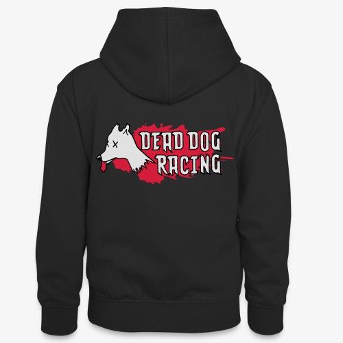 Dead dog racing logo - Teenager Contrast Hoodie