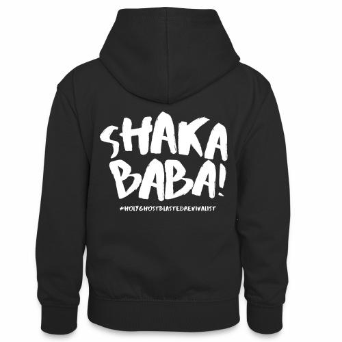 shaka - Teinien kontrastivärinen huppari