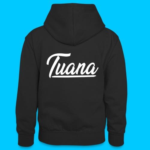 Tuana - Teenager contrast-hoodie