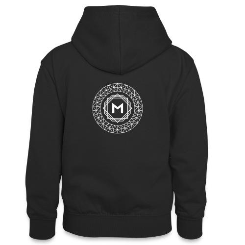 MRNX MERCHANDISE - Teenager contrast-hoodie