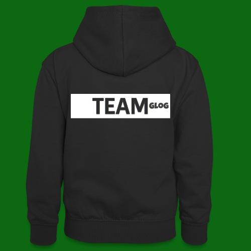 Team Glog - Teenager Contrast Hoodie