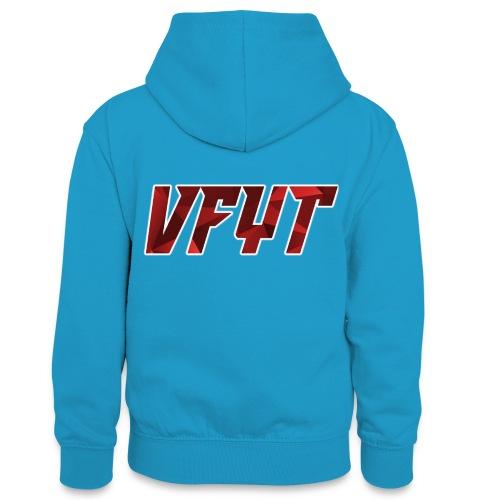 vfyt shirt - Teenager contrast-hoodie