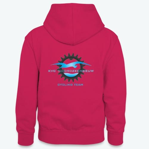 kledijlijn NZM 2017 - Teenager contrast-hoodie