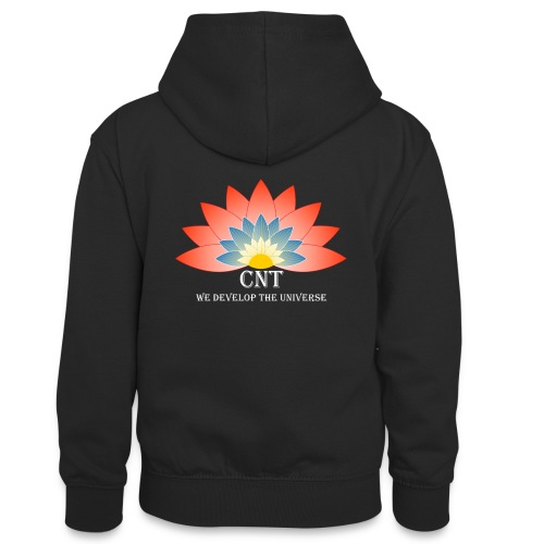Support Renewable Energy with CNT to live green! - Teenager Contrast Hoodie