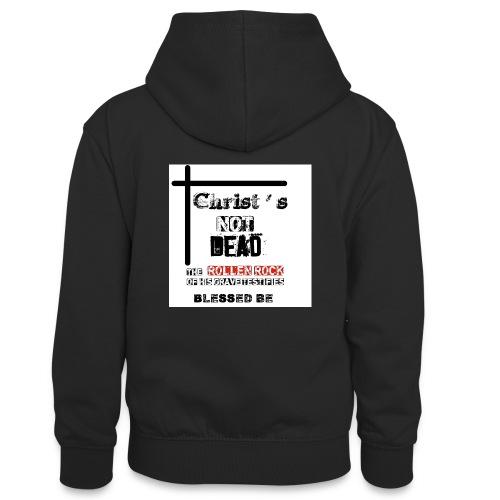 Christ's Not Dead - Sweat à capuche contrasté Ado