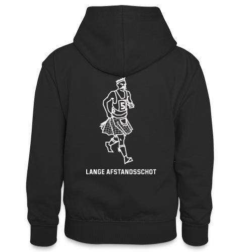 Lange Afstandsschot - Teenager contrast-hoodie