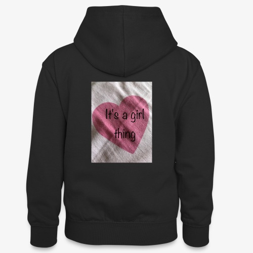 It's a girl thing! - Teenager Contrast Hoodie