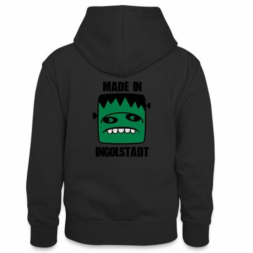 Fonster made in Ingolstadt - Teenager Kontrast-Hoodie