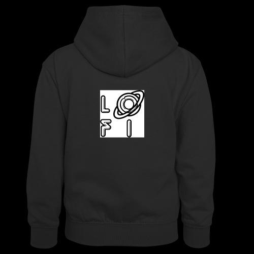PLANET LOFI - Teenager Contrast Hoodie