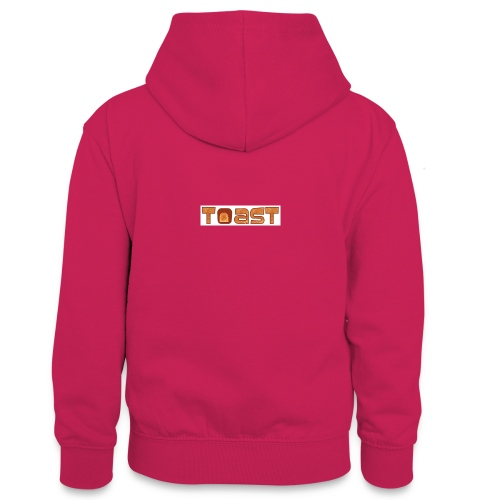 Toast Muismat - Teenager contrast-hoodie