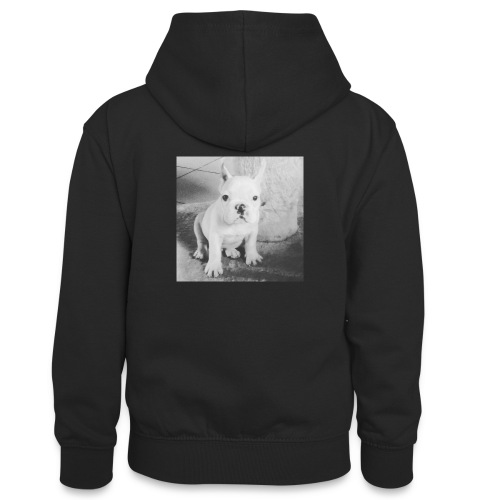 Billy Puppy - Teenager contrast-hoodie