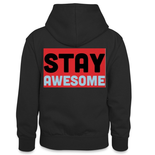 425AEEFD 7DFC 4027 B818 49FD9A7CE93D - Teenager Contrast Hoodie