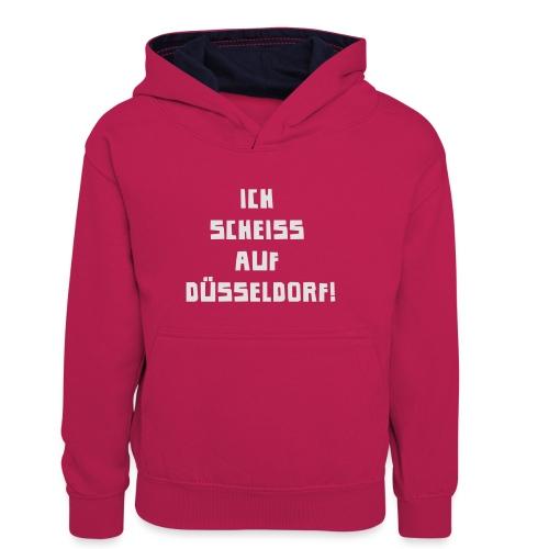 Duesseldorf - Teenager Kontrast-Hoodie