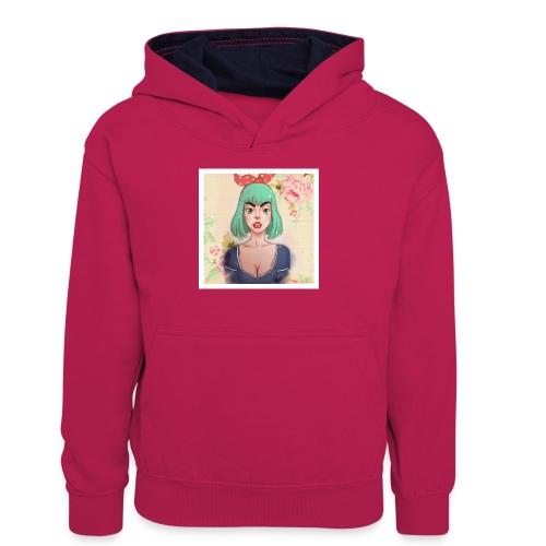 elena of spain - Teenager Contrast Hoodie