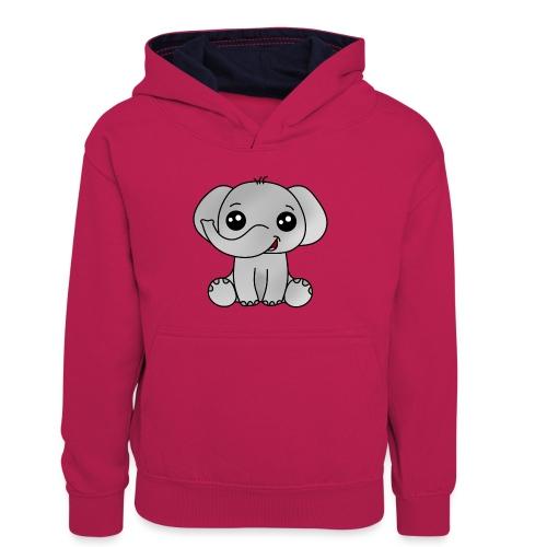 Elephant - Sudadera con capucha para adolescentes